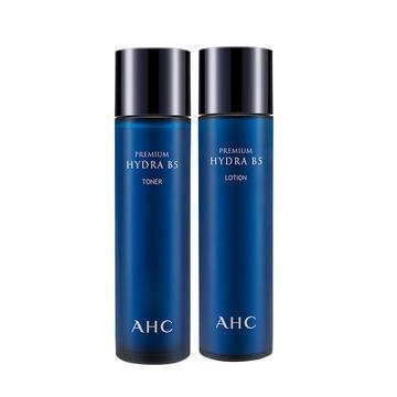 【香港直邮】【水润保湿有一套】韩国AHC B5玻尿酸高效水乳套装120ml