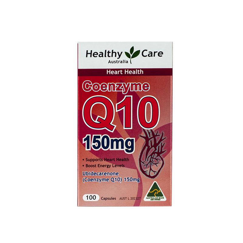 【守护心脏健康】【2瓶装】澳洲Healthy care 辅酶Q10 心脏辅酶100粒*2