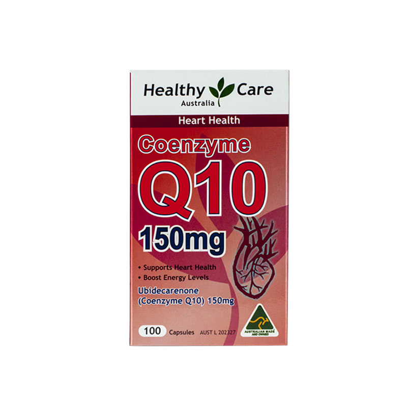 【守护心脏健康】【3瓶装】澳洲Healthy care 辅酶Q10 心脏辅酶100粒*3