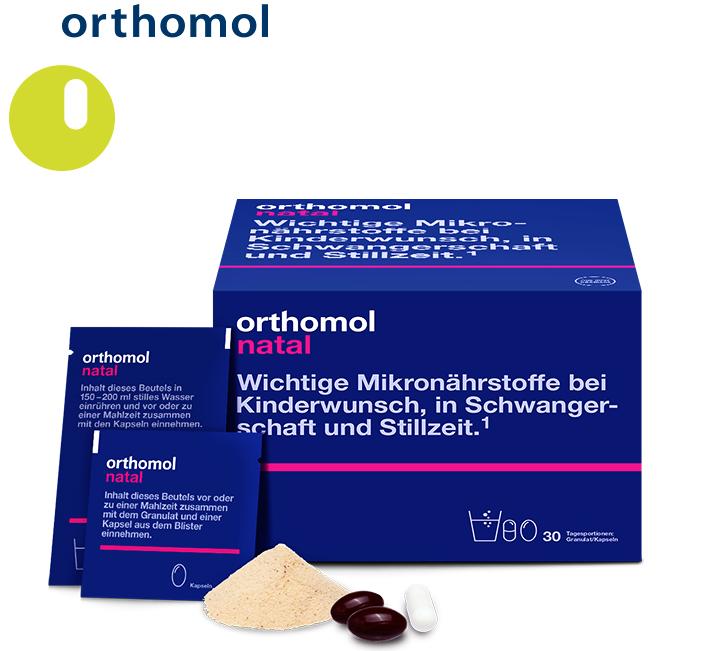 【哺乳期妈妈全面营养 】德国Orthomol Natal奥适宝女性产后营养素30袋 含叶酸及益生菌