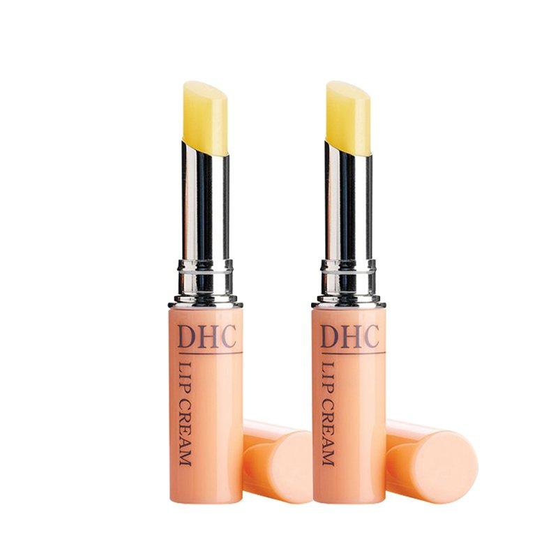 【2支裝】【香港直郵】日本DHC橄欖護唇膏1.5g*2支(新老版本隨機發貨)