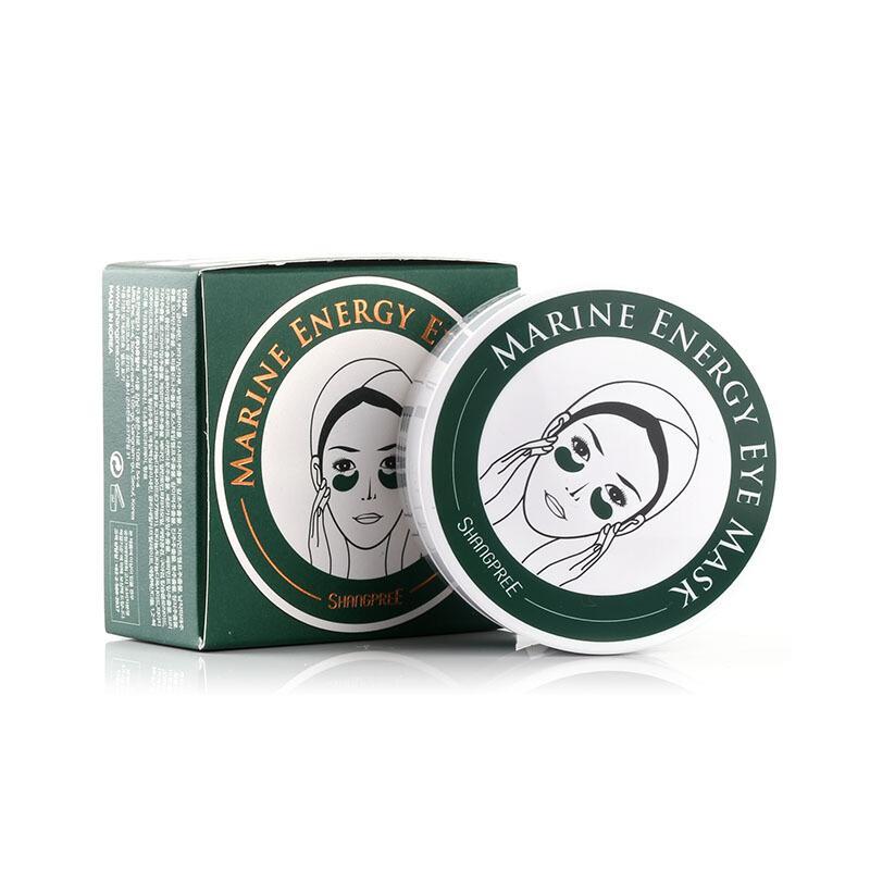【2盒装】【香港直邮】韩国香蒲丽SHANGPREE 绿公主眼膜 60贴*1.4g/盒 淡化黑眼圈