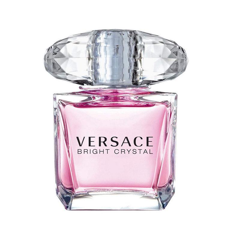【香港直郵】意大利Versace/范思哲粉紅晶鉆女士香水90ml