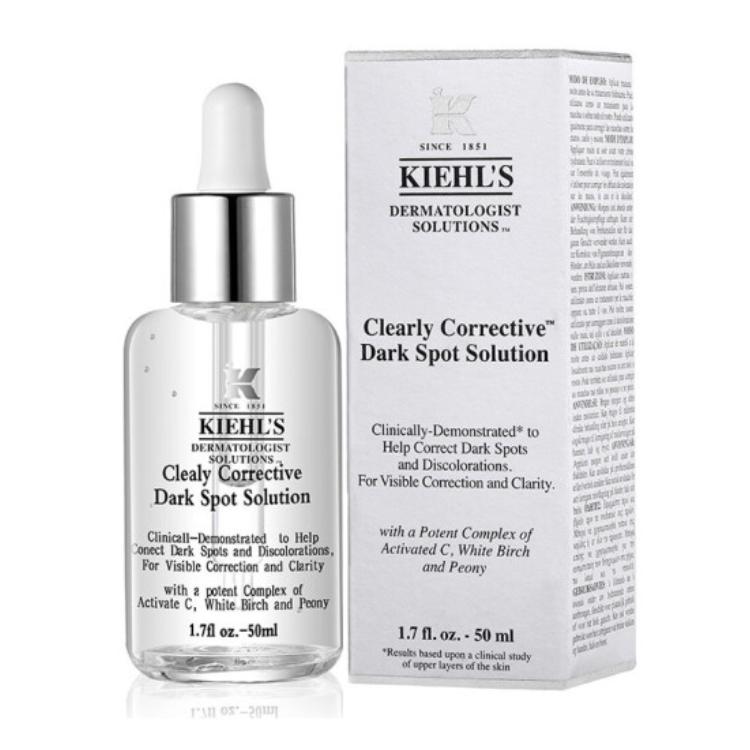 【宋茜同款】Kiehl's 科顏氏集煥白均衡亮膚淡斑精華液 安白瓶50ml(新老版本隨機發貨)
