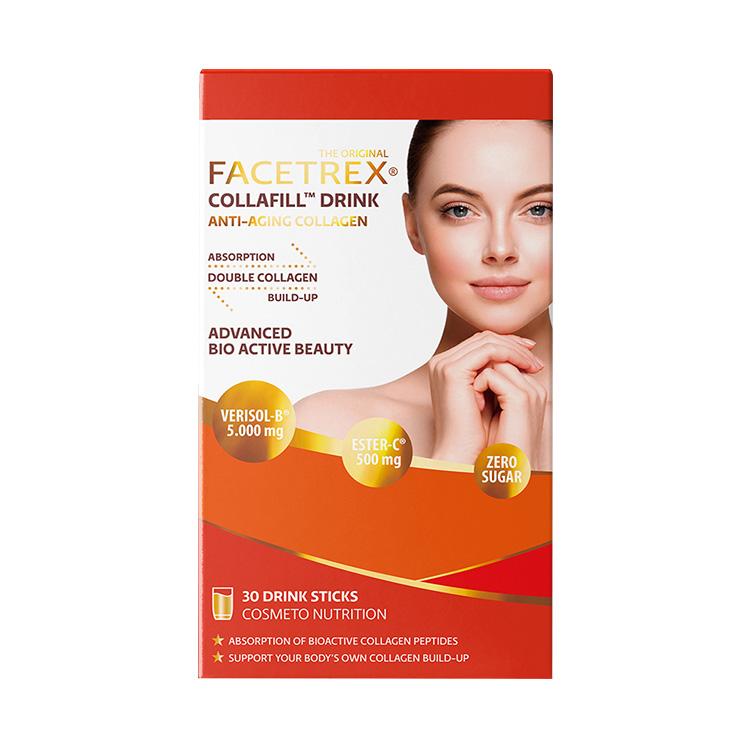 【破除魔皱】荷兰进口 FACETREX胶原蛋白肽 30袋/盒