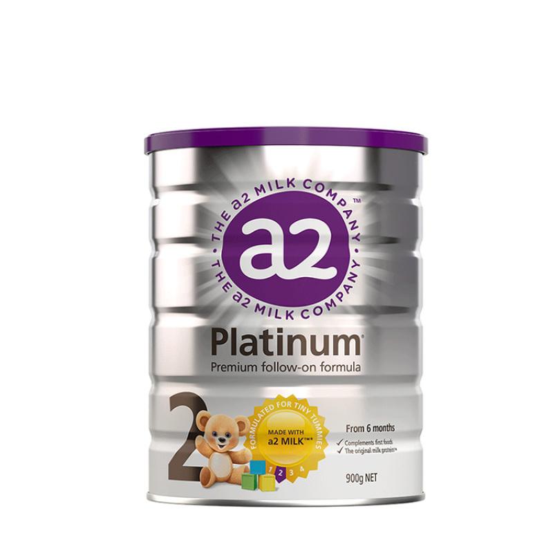 A2白金系列2段嬰兒配方奶粉900g