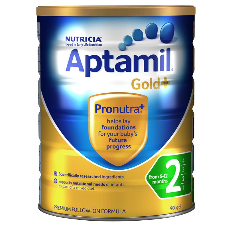 Aptamil愛他美金裝2段嬰兒配方奶粉900g