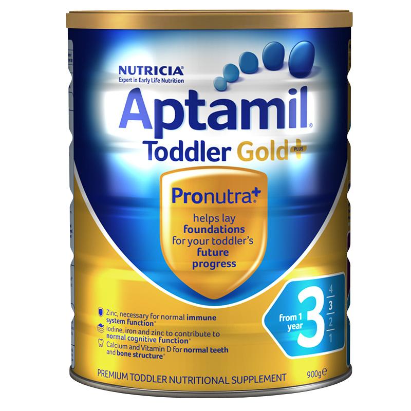 Aptamil愛他美金裝3段嬰兒配方奶粉900g
