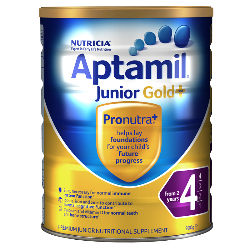 Aptamil愛他美金裝4段嬰兒配方奶粉900g