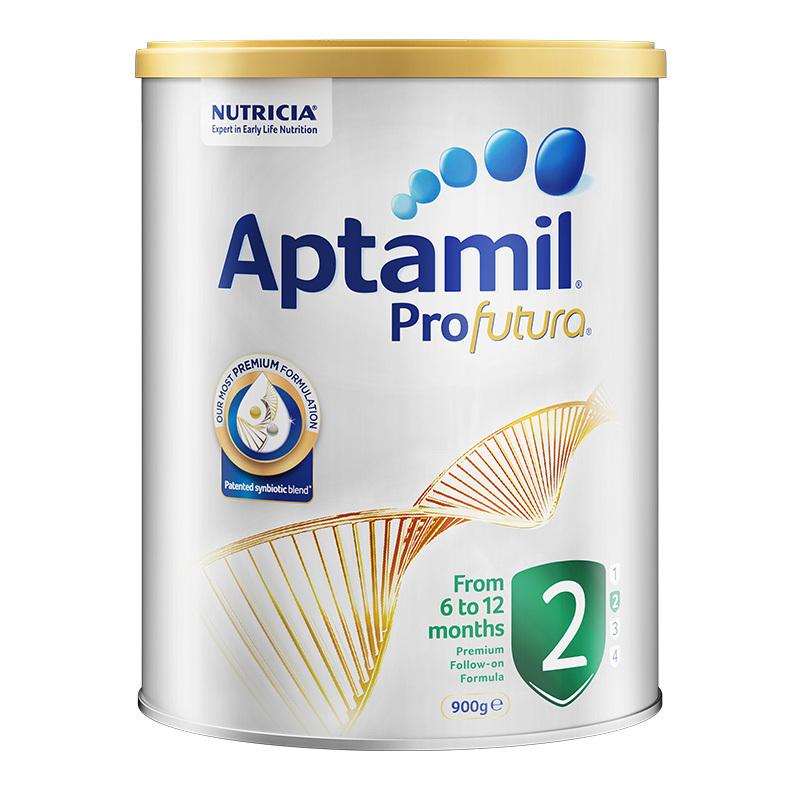 Aptamil愛他美鉑金版2段嬰幼兒奶粉900g