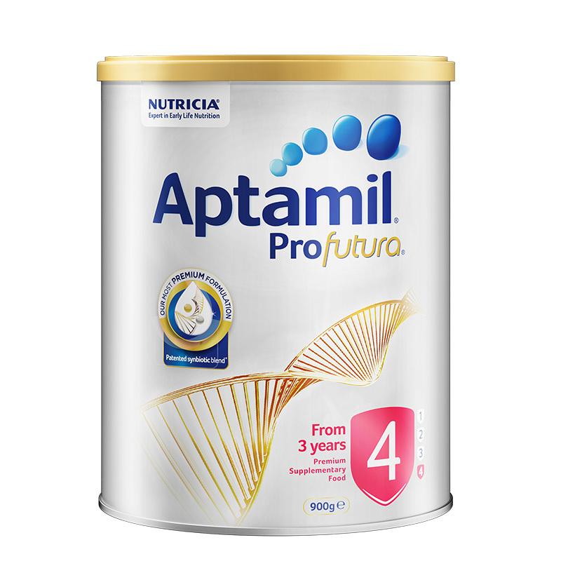 Aptamil愛他美鉑金版4段嬰幼兒奶粉900g