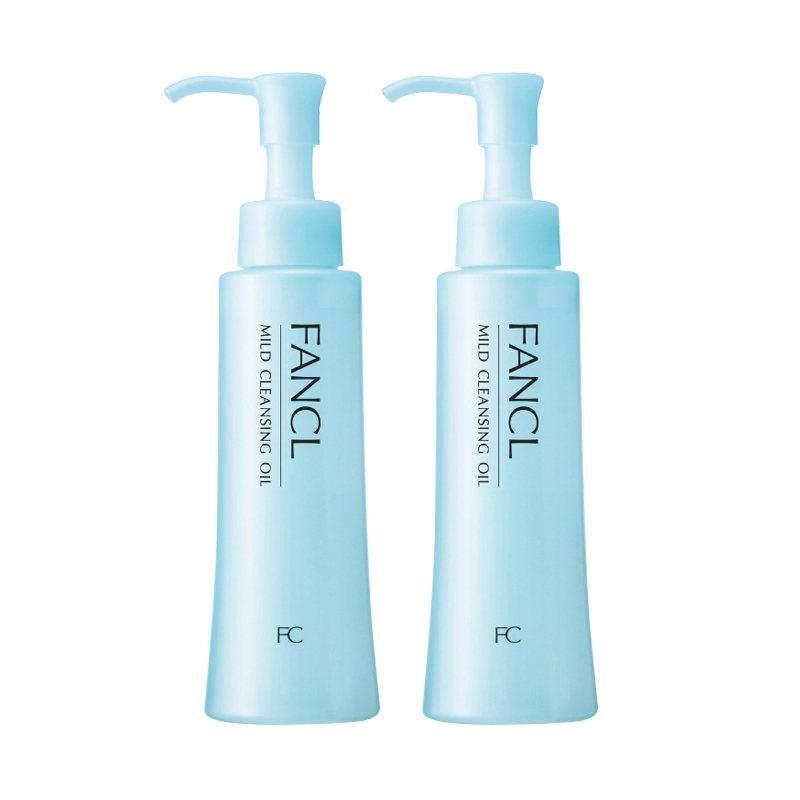 【2瓶装卸护合一 敏肌可用】日本FANCL 芳珂 无添加净化卸妆油 120毫升