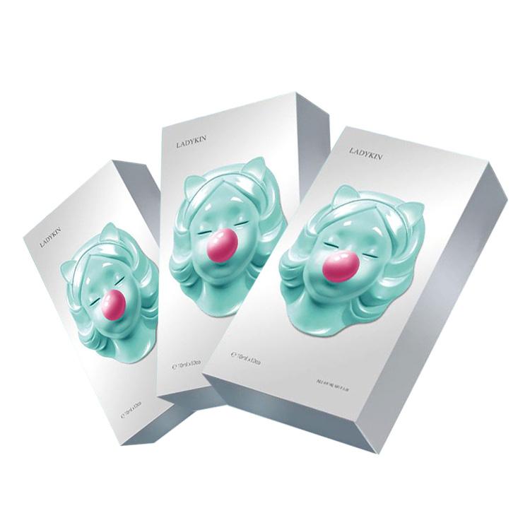 【3盒裝 曬后急救修復】韓國 蕾蒂金ladykin瓷娃娃冰膜 5片*7盒