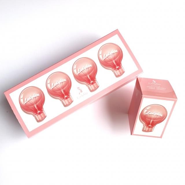 【沈夢辰同款 120片小燈泡】韓國LadyKin 蕾蒂金童顏精華液安瓶2ml*120片
