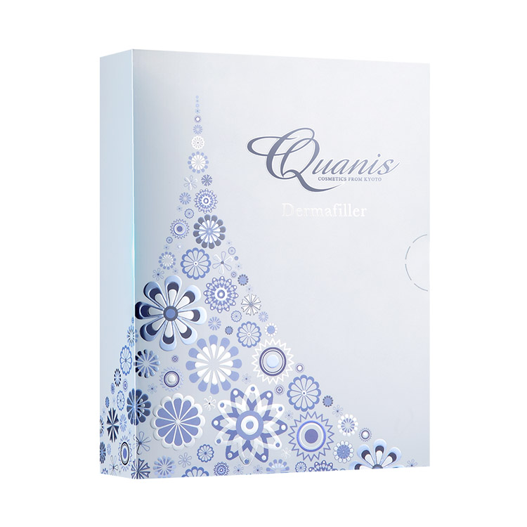 【Quanis旗舰店】Quanis/克奥妮斯玻尿酸微针眼贴2600针(1对装)淡化黑眼圈眼袋细纹