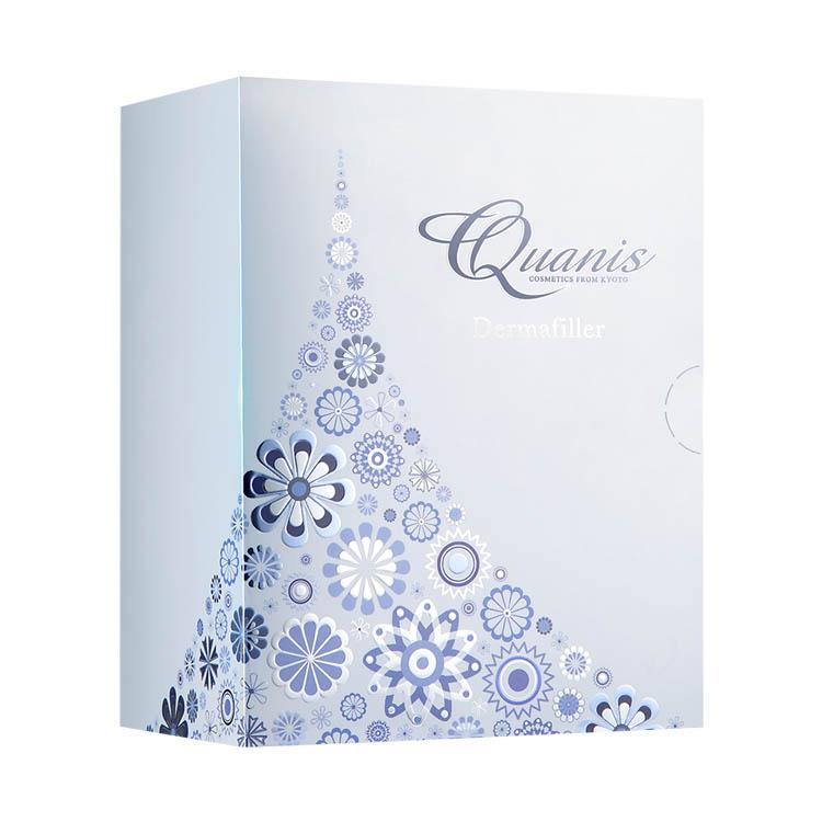 【Quanis旗舰店】Quanis/克奥妮斯玻尿酸微针眼贴2600针(8对装)淡化黑眼圈眼袋细纹
